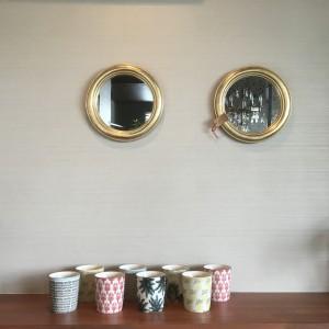 COZY 江津 ウォールミラー ポット
