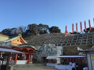 cozy cozyの庭 初詣 高橋稲荷神社